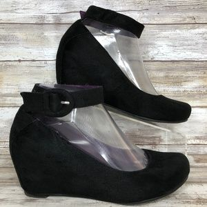 Chinese Laundry Late Night 7M Hidden Wedge Pumps